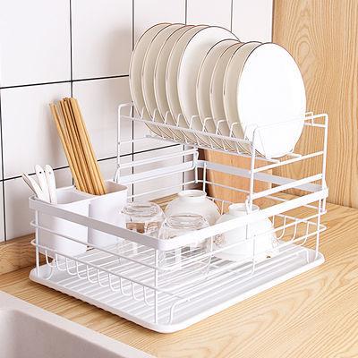 厨房置物架家用水槽沥碗架碗柜碗碟碗筷盘刀收纳盒大容量餐具架子