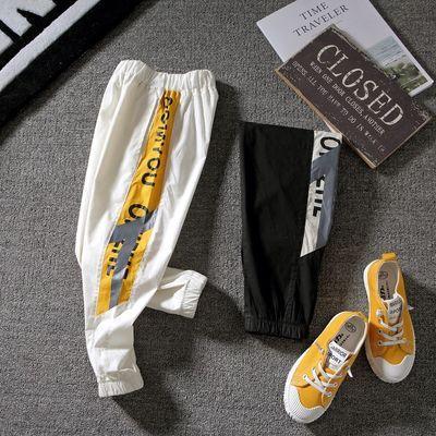 男女童防蚊裤夏装儿童裤子2020夏季薄款九分童裤大童空调裤运动风