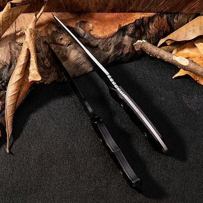 赠送刀套户外小直刀高硬度野外直刀钓鱼切刀野营用品户外刀具