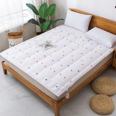 棉花褥子1.35m单人加厚家用双人床垫1.8m棉花垫被学生宿舍铺床被