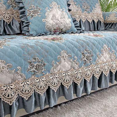 沙发套罩四季通用欧式沙发垫防滑简约坐垫子全包万能沙发套全盖布