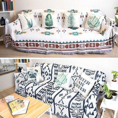 波西米亚双面沙发布全盖布沙发巾罩笠沙发毯子单双人沙发套沙发垫