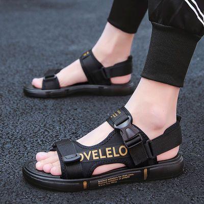 2020夏季新款凉鞋男男士凉鞋潮流韩版个性拖鞋休闲凉拖防滑沙