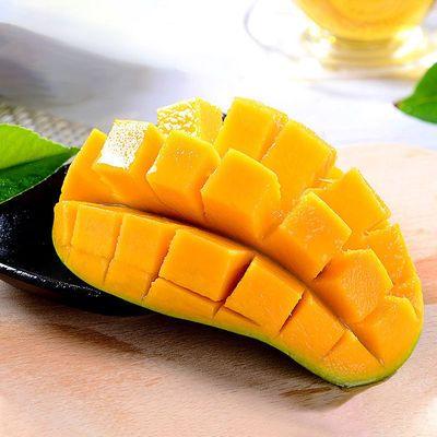 芒果包邮多规格水果当季正宗新鲜整箱金煌芒果摘现发大批发现海南