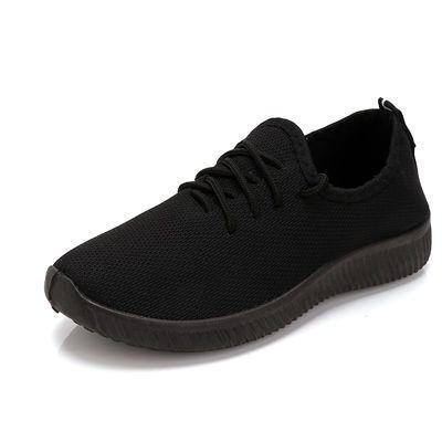 【买一送一】老北京布鞋男运动跑步鞋中老年健软底步鞋父亲爸