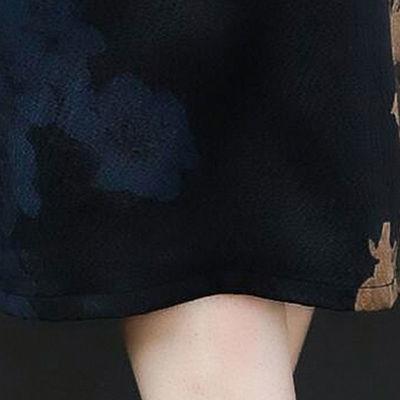 中年妈妈夏装改良旗袍连衣裙2020新款中老年女装气质高贵大码裙子