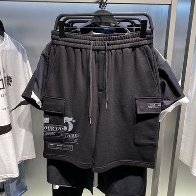 【商场同款】鸟家男装 夏季新款夏季新款休闲短裤针织裤B1GCA2713