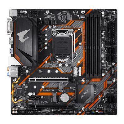 技嘉B365 M AORUS ELITE小雕台式电脑主机箱游戏1151主板b360换代