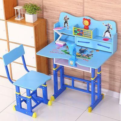 儿童书桌家用课桌简约可升降学习桌男女孩小学生写字桌椅套装组合