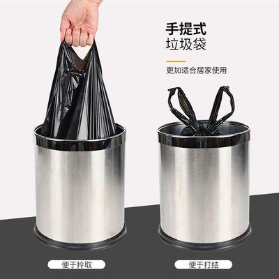 【买2份送100只】黑色垃圾袋大号加厚家用手提式背心袋塑料袋批发