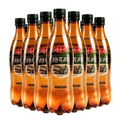 娃哈哈格瓦斯饮料600ml/330mlX15瓶装整箱麦芽风味碳酸饮品包邮