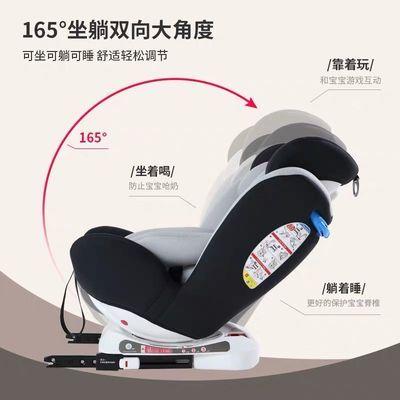 【厂家直销】儿童安全座椅汽车用简易便携式宝宝婴儿旋转坐椅车载