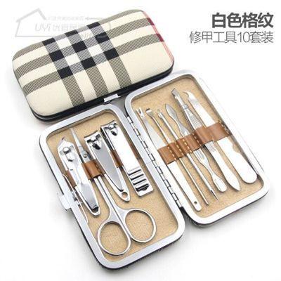指甲刀套装剪指甲钳套装多功能剪指甲刀全套美甲工具粉刺针指甲剪
