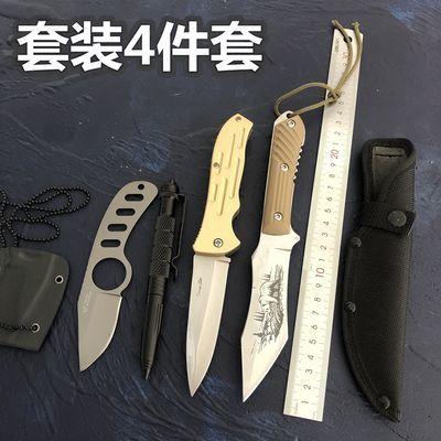 户外刀具高硬度小直刀荒野求生刀防身刀随身刀非折叠刀锋利水果刀