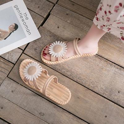 2020年新款夏季仙女风ins潮平底女士学生百搭时尚罗马鞋凉鞋夏天
