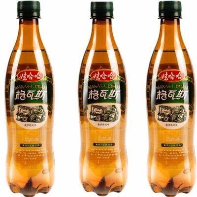 娃哈哈格瓦斯600ml大瓶俄罗斯风味面包发酵饮料8瓶整箱