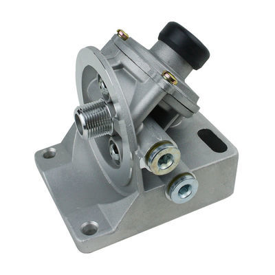 PL420柴油滤清器滤芯底座带手油泵适配重卡装载机潍柴锡柴玉柴
