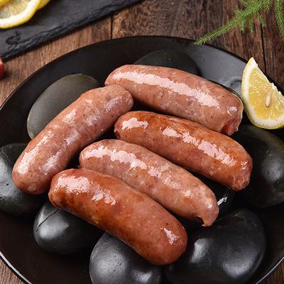 台湾风味火山石烤香肠纯肉肠黑胡椒烤肠地道肠10根600g台湾特产肠