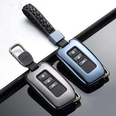 2019新款雷克萨斯LX570铝合金汽车钥匙套IS300 IS200t包扣壳挂钩