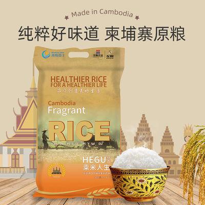 赫古柬埔寨茉莉香米10斤进口大米20斤批发包邮籼米新米长粒香米