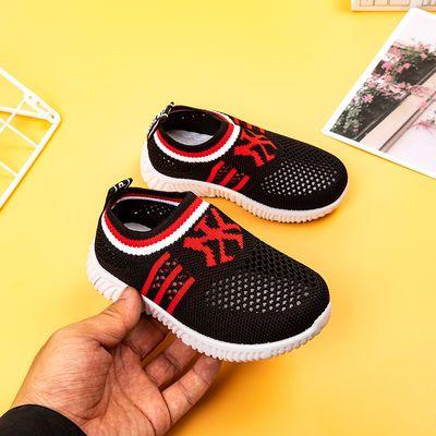 2020夏季儿童网鞋透气飞织布男女童鞋防滑软底宝宝学步鞋厂家直销