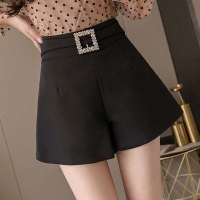 西装短裤2020夏季韩版新款高腰百搭外穿宽松显瘦休闲a字女裤
