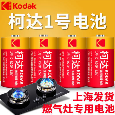2010柯达电池1号电池大号R20一号电池热水器煤气液化气燃气灶专用