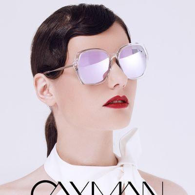 卡仕曼  太阳镜时尚大框眼镜复古墨镜太阳镜女防紫外线眼镜CX3172