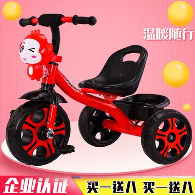 儿童三轮车脚踏车1-3-2-6周岁大号带斗音乐男女孩轻便宝宝脚蹬车