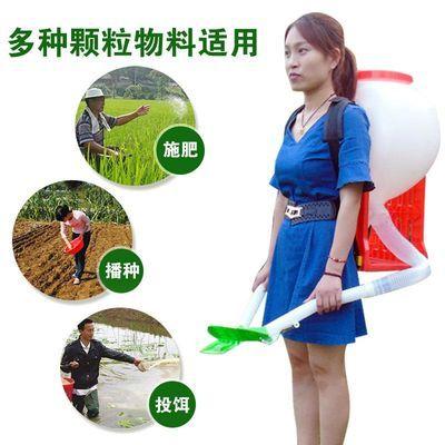 背负式追肥器】手动小麦水稻扬肥器玉米甘蔗蔬菜施肥器手甩撒肥器
