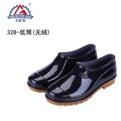 新款防水牛筋底雨鞋男胶鞋耐磨高筒雨靴加厚水鞋防滑劳保洗车水靴