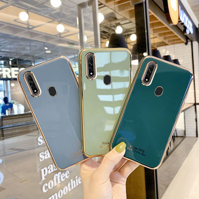 OPPOa8手机壳电镀r15/a11/a9/a5/r9s/r11s/r17/reno/a7x/k5/a3/女