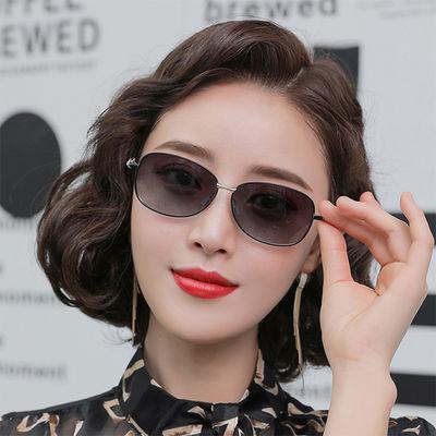 2020新款太阳镜女复古潮流偏光太阳眼镜小脸圆脸防紫外线开车墨镜
