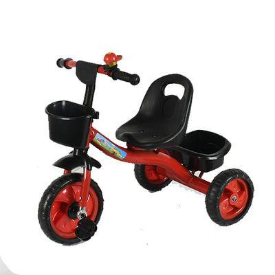 儿童三轮车脚踏车1-2-3-5-6岁大号带斗男女孩轻便手推宝宝脚蹬车