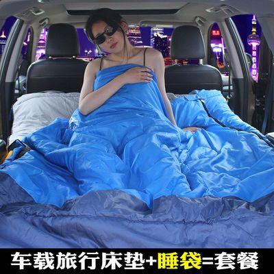 盼步自动充气床汽车车载旅行床车用床垫SUV车震床轿车后备箱成