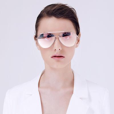 卡仕曼复古时尚太阳镜情侣款墨镜蛤蟆镜女司机镜男太阳镜女CX3178