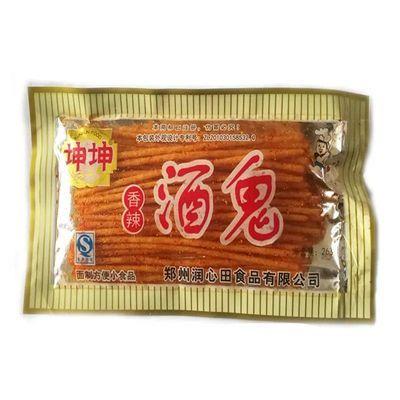 坤坤酒鬼辣条20g/袋 香辣素食童年辣丝8090后儿时怀旧面筋零食品