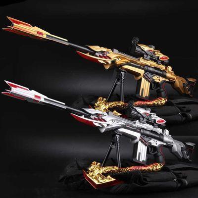 雷神巴雷特全自手电动连发水弹枪阻击枪暗杀星穿越玩具抢火线M4