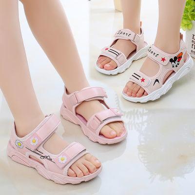 女童凉鞋2020夏季新款沙滩鞋儿童鞋韩版夏天学生中大童凉鞋公主鞋