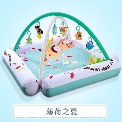 婴儿玩具脚踏钢琴健身架器0-3-12个月护栏益智音乐玩具新生儿礼物