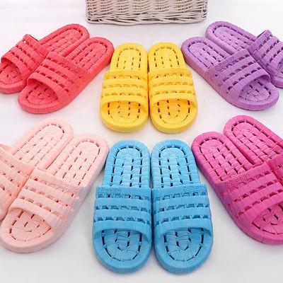 【买一送一,拍一份=2双】居家室内漏水男女情侣防滑洗澡浴室拖鞋