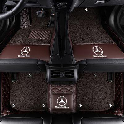 2020新款奔驰GLE450 GLE350 400 320全包围汽车脚垫双层丝圈脚垫