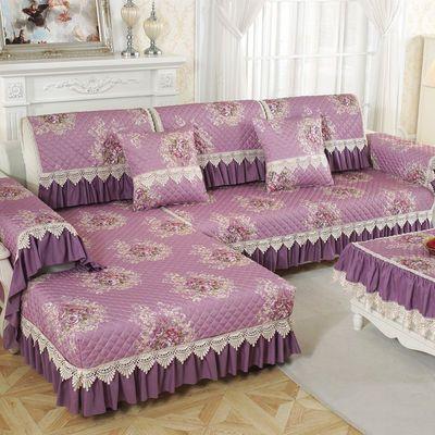 沙发垫四季通用防滑布艺坐垫简约现代沙发套全包沙发套罩整套定做