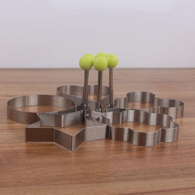 不锈钢煎蛋器创意蒸荷包蛋模具煎蛋器模型煎饼心型花型星圆形模具