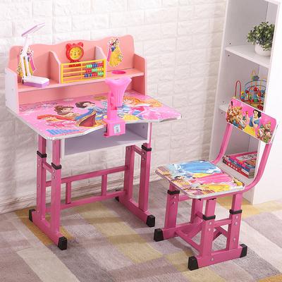 儿童学习桌儿童书桌简约家用课桌男孩女孩小学生写字桌椅套装组合