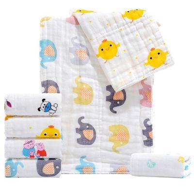 毛巾婴儿棉纱宝宝宝宝围嘴婴儿360度纱布新生生儿喂奶新生儿洗脸