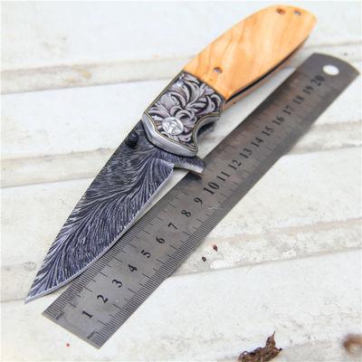 户外野外随身防身多功能折叠刀不锈钢高硬度瑞士直刀水果刀具
