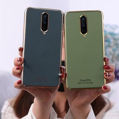 一加8手机壳男女全包防摔一加8pro硅胶软壳网红新款可爱超薄电镀