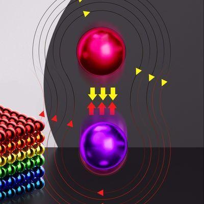 巴克球磁力球1000颗魔力珠磁铁吸铁石儿童益智马八克积木减压玩具