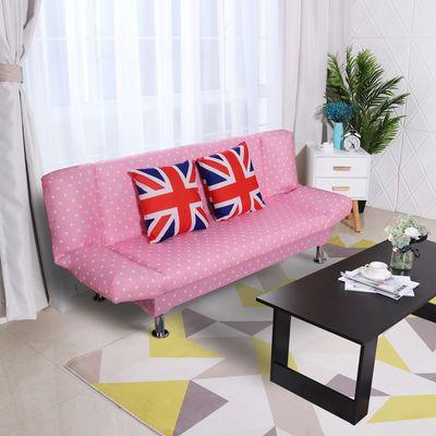 折叠沙发床两用客厅单人双人三人小户型沙发多功能布艺懒人小沙发